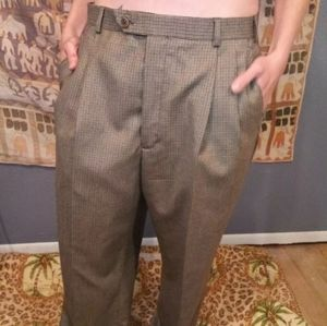 346 Pleated Front  Wool/Cashmere 36/31 Dress Pants
